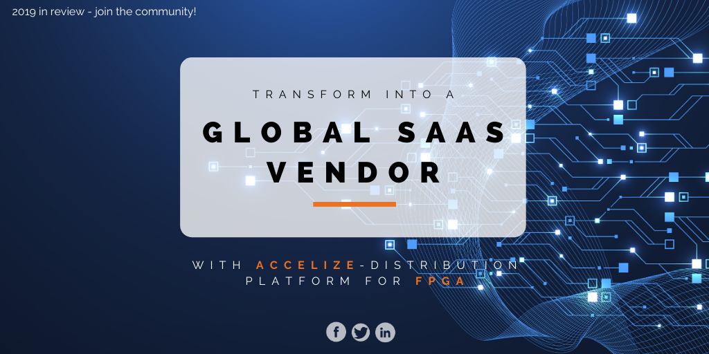 Is 2020 the year you upgrade into a global SaaS vendor?