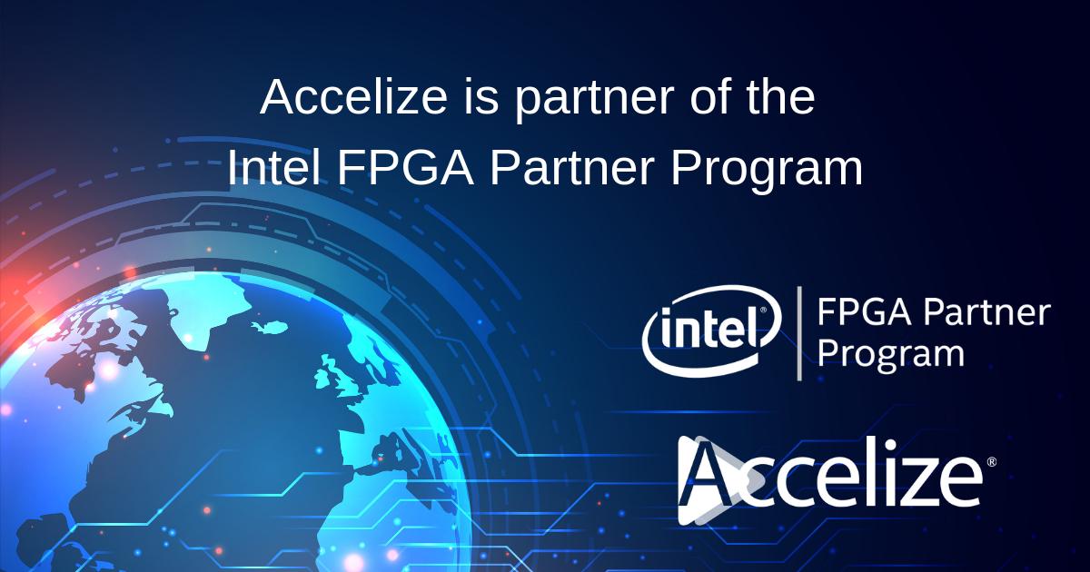 Accelize is partner of the Intel FPGA Program