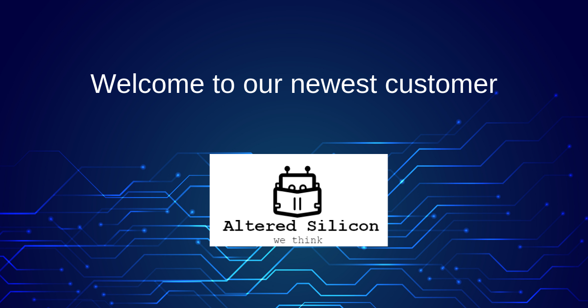 Welcome to Altered Silicon