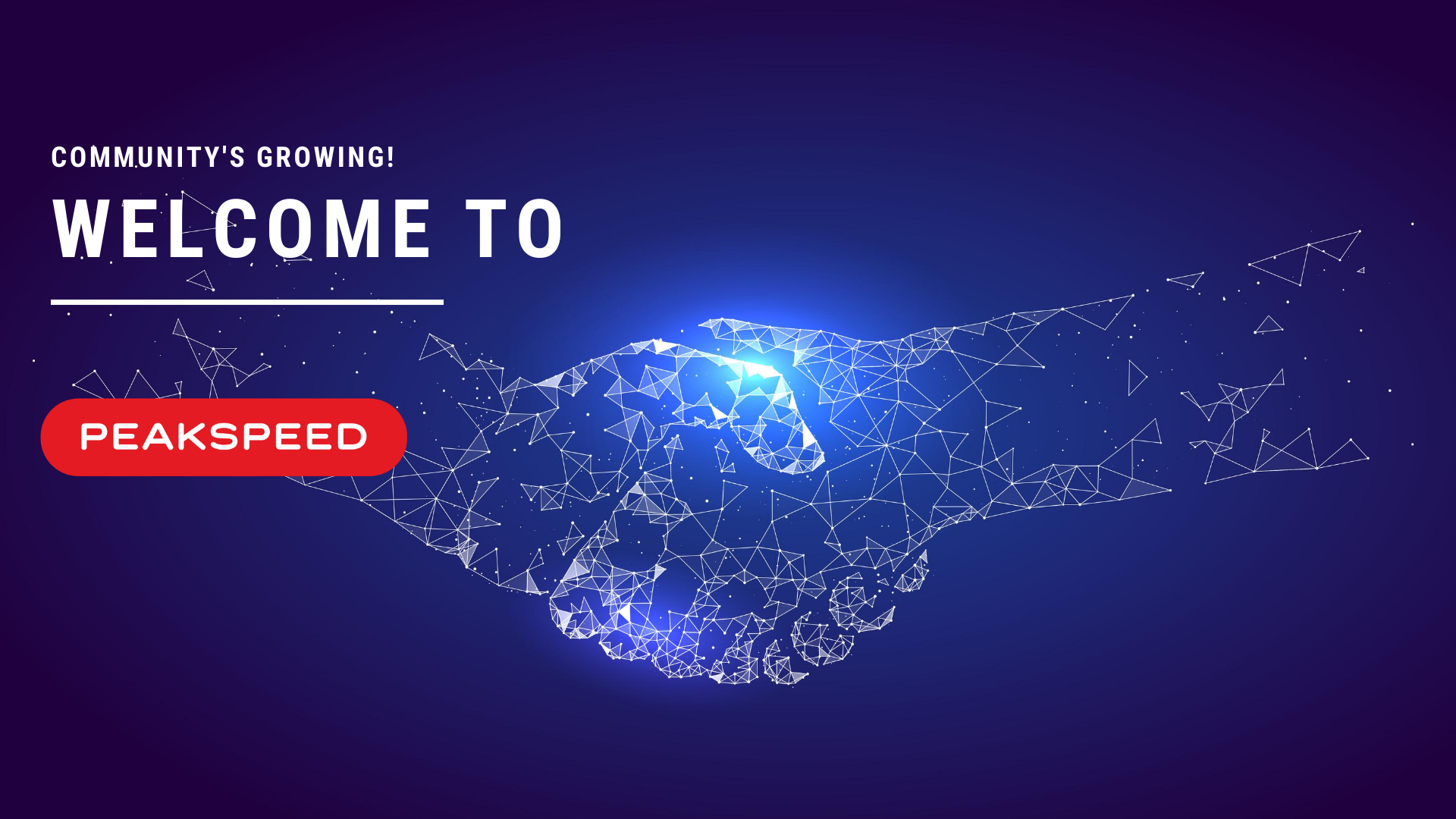 WELCOME TO PEAKSPEED.IO!