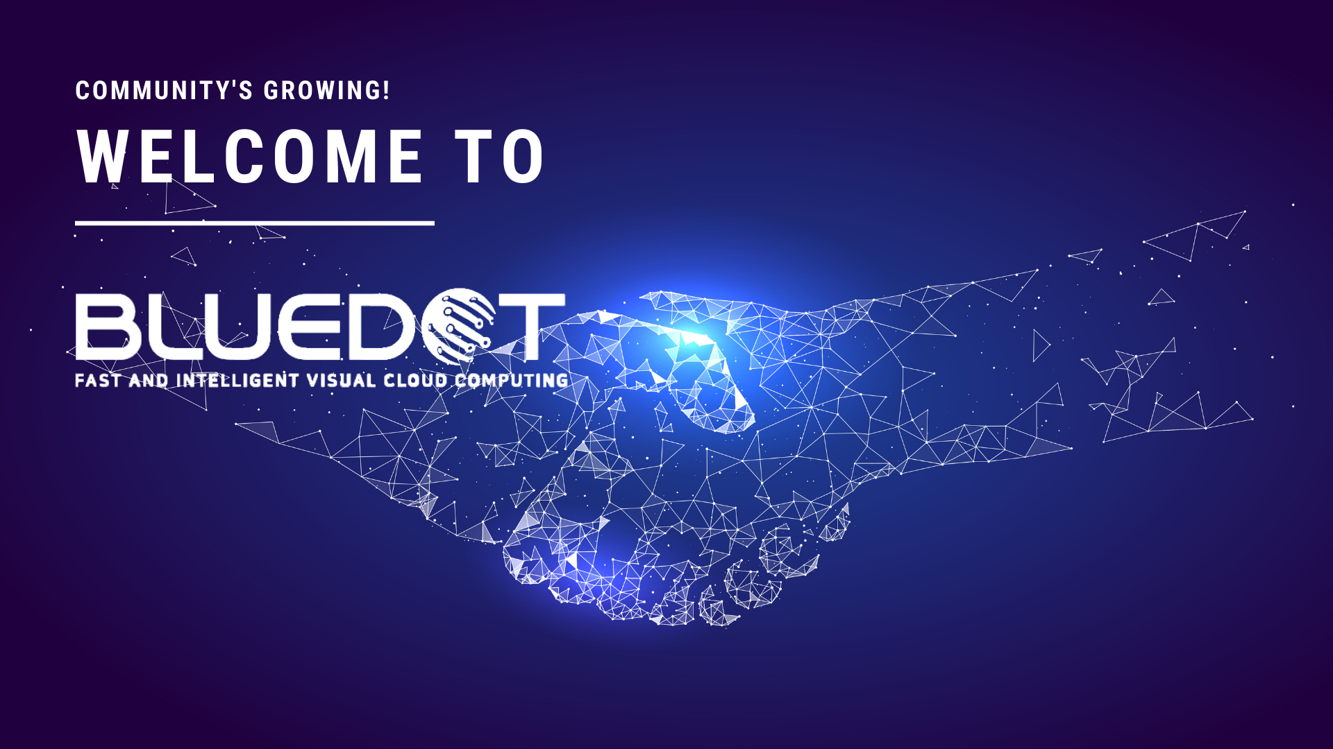 WELCOME TO BLUEDOT