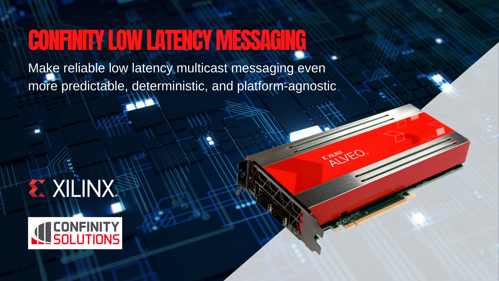 Confinity Low Latency Messaging