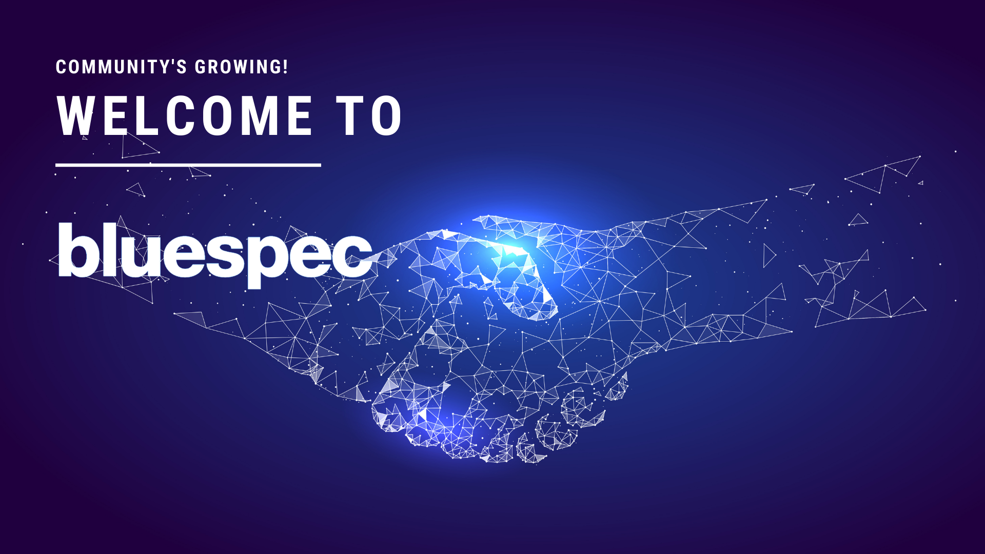 WELCOME TO BLUESPEC